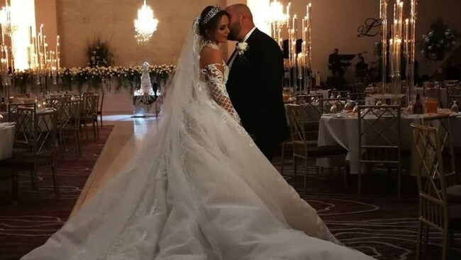 The couple had more than 700 guests at their lavish wedding.