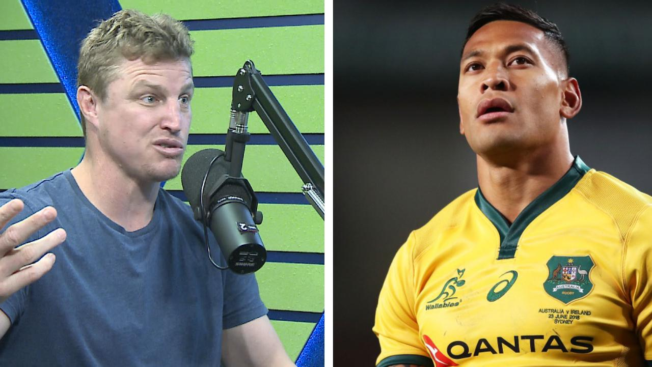 Brett Finch says rugby league should not comment on the Israel Folau situation
