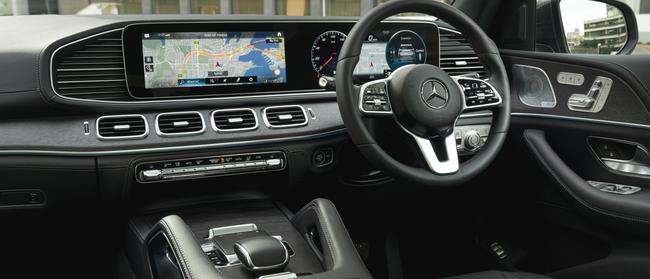 Dash of style: Infotainment set-up is easy to use on the move