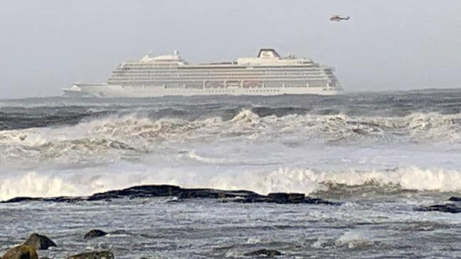 Viking Sky cruise ship reaches port in Norway after rescue mission