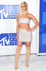 Bebe Rexha attends the 2016 MTV Video Music Awards at Madison Square Garden on August 28, 2016 in New York City. Picture: Getty