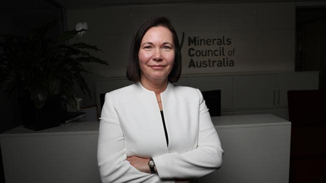 Minerals Council Chief Tania Constable in Canberra. Picture Gary Ramage