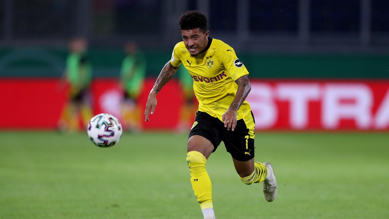 Manchester United's pursuit for winger Jadon Sancho is nearing its end.