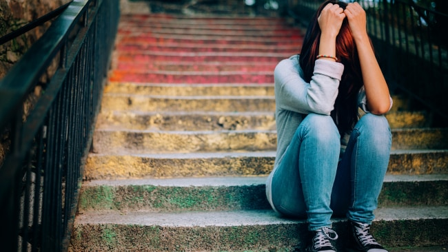 We shouldn't be made to feel guilty for not being happy all the time. Image: Getty Images
