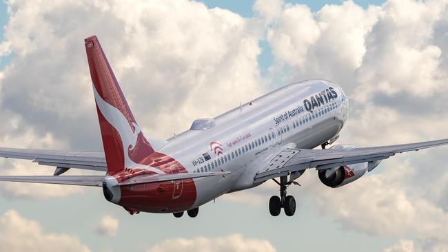 Qantas unveils its first Wi-Fi service © Kurt Ams
