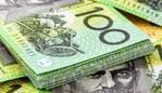 Australian one hundred dollar bills, money, notes, income, generic
