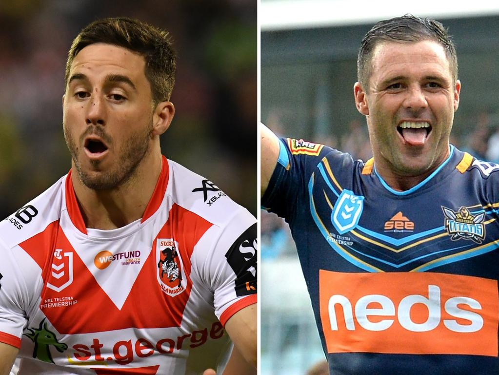 Ben Hunt has been rested, while Michael Gordon returns from injury.