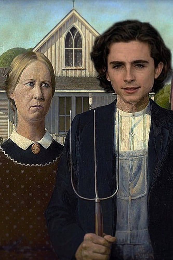 Timothée Chalamet's face is being Photoshopped onto famous paintings thanks to this Instagram account