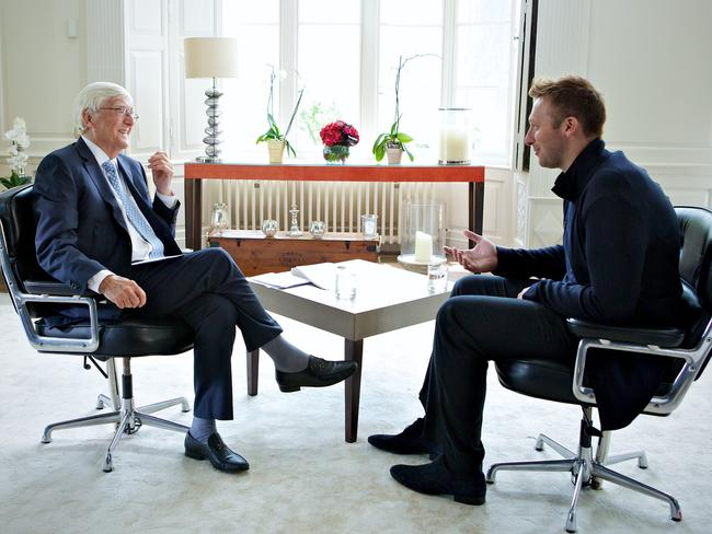 Sir Michael Parkinson's interview explored the private and sometimes troubled world of Ian Thorpe.