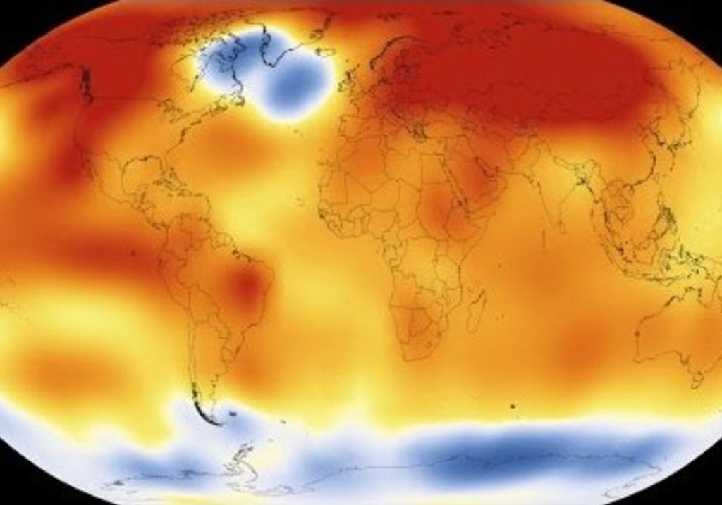 NASA NOAA Animation Shows Earth Is Warming