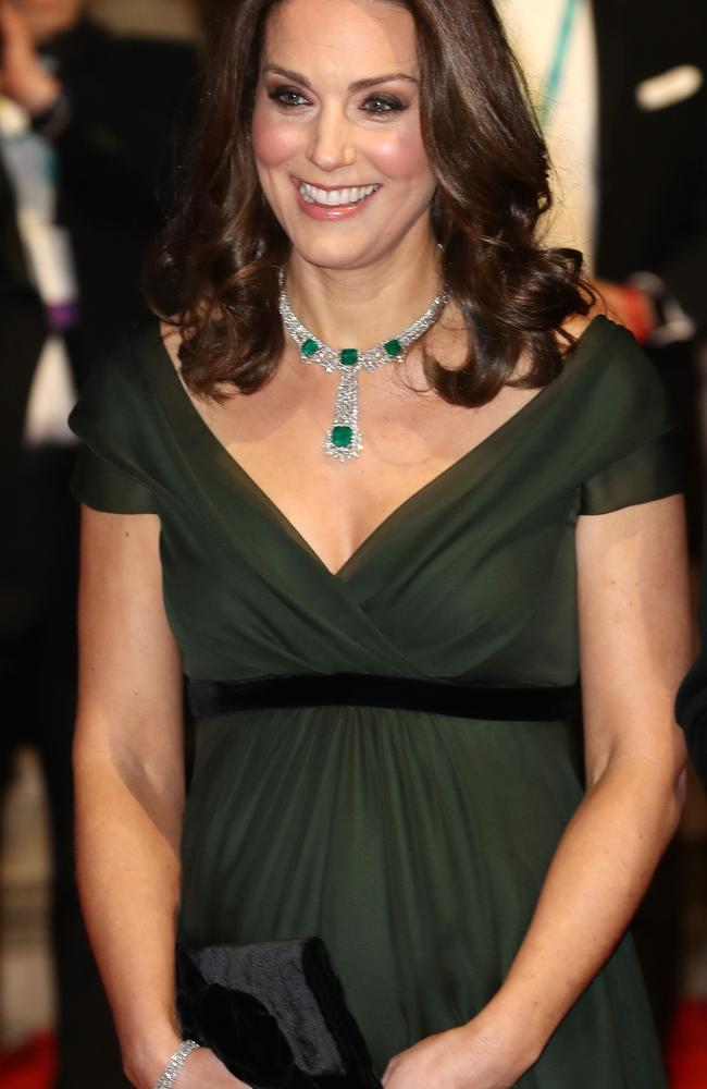 The Duchess at the BAFTA awards earlier this year. Picture: Chris Jackson/Getty Images.