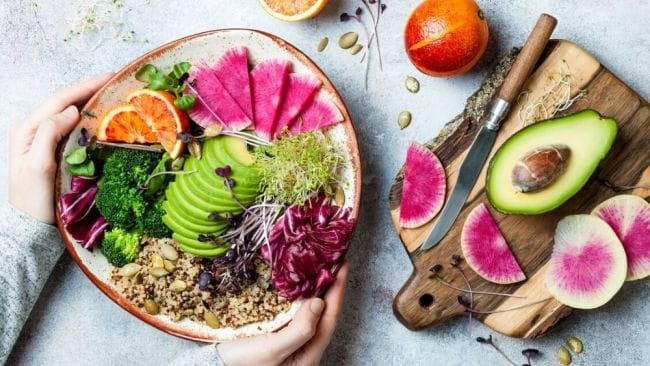 Plant-based diets are nothing new, but we might see a shift from the more extreme vegan way of eating. Image: iStock.