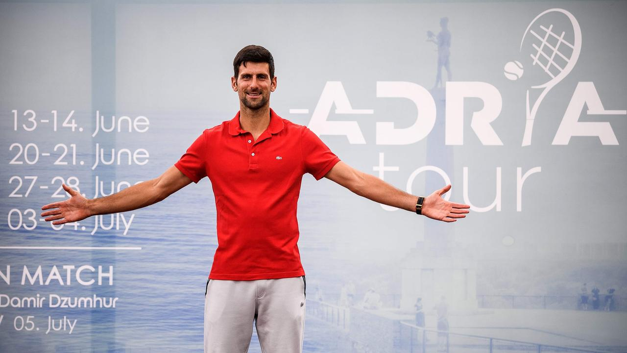 Until Monday, his ill-fated Adria Tour and subsequent coronavirus diagnosis was the main event of Djokovic's ignorance.