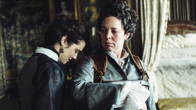 The Favourite will be in cinemas on Boxing Day. Picture: Yorgos Lanthimos/Fox Searchlight Films via AP