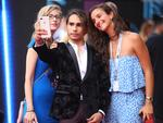 Isaiah Firebrace arrives on the red carpet for the 31st Annual ARIA Awards 2017 at The Star on November 28, 2017 in Sydney, Australia. Picture: Getty