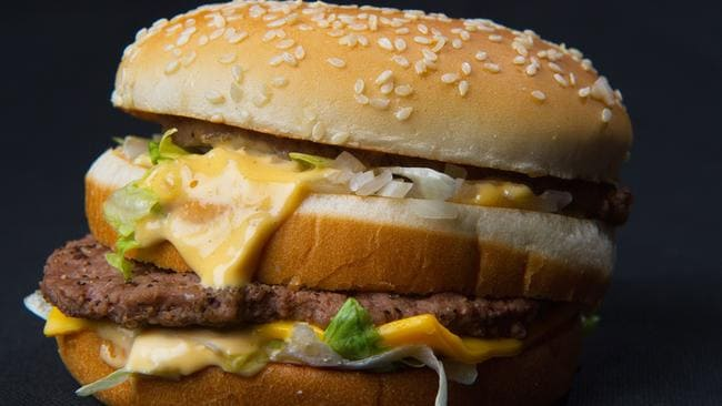 The Big Mac which Don Gorske has been obsessed with for 46 years. Picture: AFP