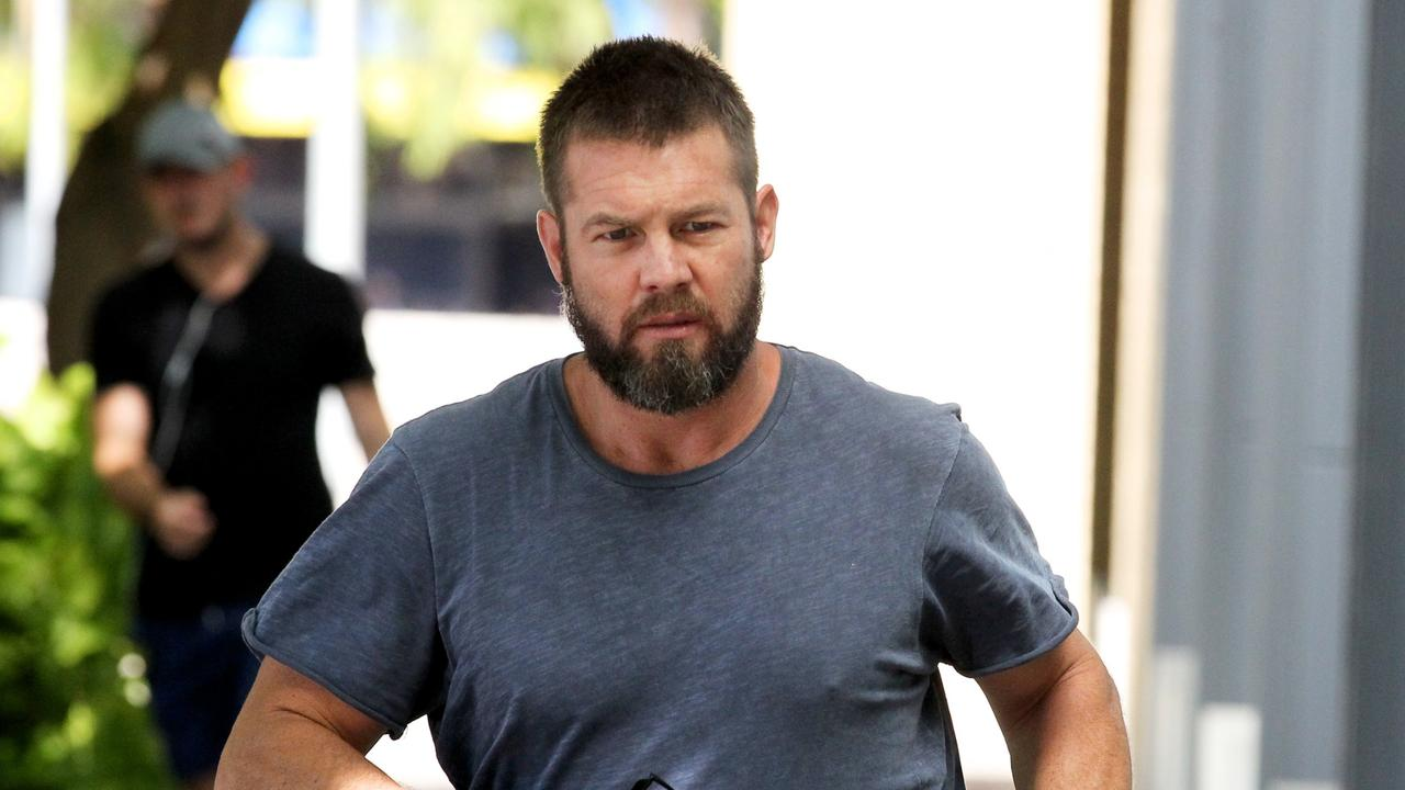 Ben Cousins is out of jail. Photo: AAP Image/Richard Wainwright