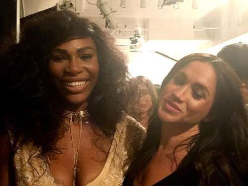 Serena Williams and her friend Meghan Markle Picture: Instagram