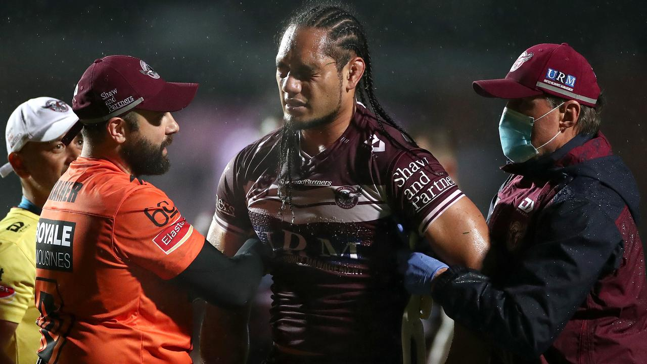 Martin Taupau is out. (Photo by Cameron Spencer/Getty Images)