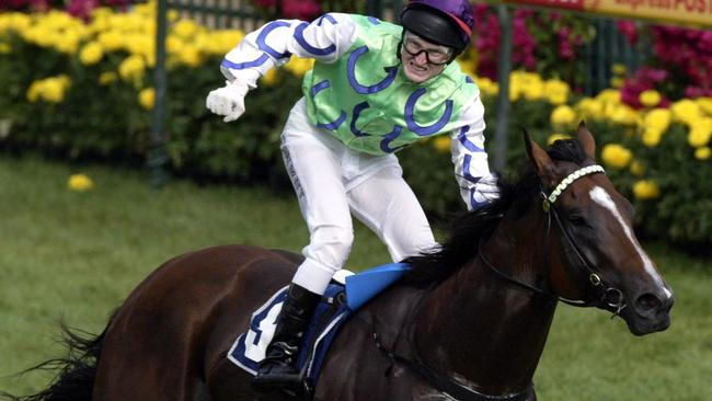 Snitzel won seven of his 15 starts, including the Group 1 Oakleigh Plate in 2006.