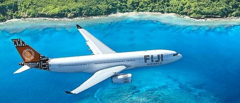It all started when 70-year-old David Swann's flight from Melbourne to Fiji was cancelled last May and by chance he met a woman of similar age who he quite fancied. Picture: Fiji Airways