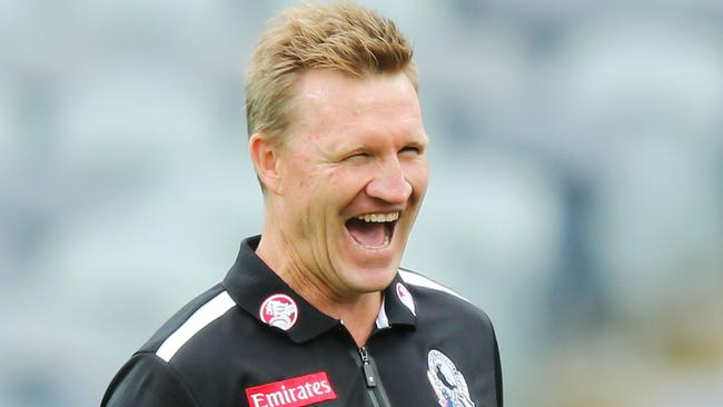 It's a crunch season for Magpies coach Nathan Buckley.