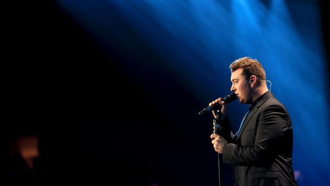 Sam Smith delivered soul and suits to 2014. (Photo by Getty Images)