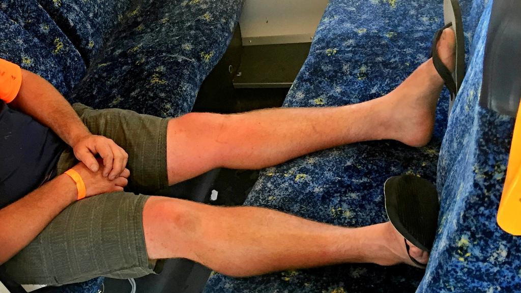 Passengers Caught Putting Their Feet Up While On Public Transport Are Facing Tougher Fines Than Fare