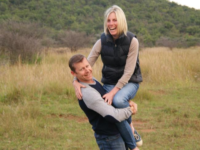 Pat and Angie Cunningham. Picture: Supplied