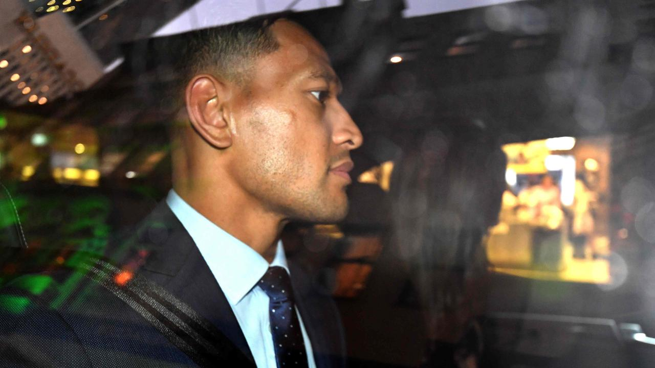 Israel Folau's GoFundMe page has been shut down.