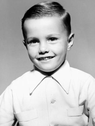 A young Drew Morphett.