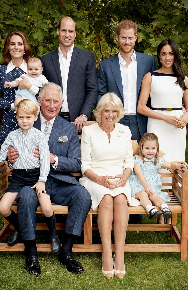 The royal family in a photo ahead of Prince Charles' 70th birthday. Picture: Chris Jackson/Getty
