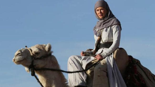 Kidman went full Laurence of Arabia for this little-seen Gertrude Bell biopic.