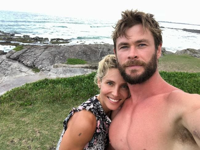 Elsa Pataky and Chris Hemsworth spent the weekend in hospital with their four-year-old son.