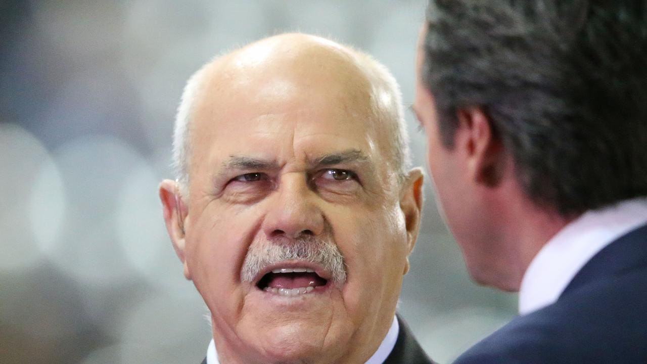 Leigh Matthews in his role as commentator.
