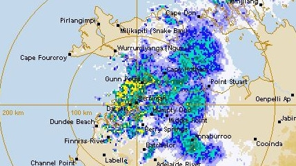 Darwin weather: BOM predicts rain will stay all morning | NT