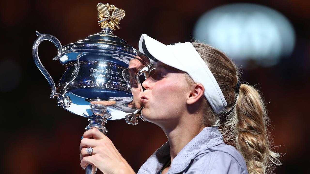 Caroline Wozniacki of Denmark will retire after the 2020 Australian Open. Picture: Clive Brunskill