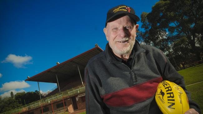 Colin ''Tiny'' Nelson was previously recognised with an Order of Australia Medal for his 50 years volunteer work at the Goodwood Saints.