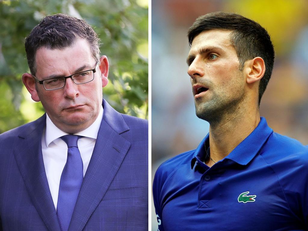Novak Djokovic's reality has been laid bare by Daniel Andrews