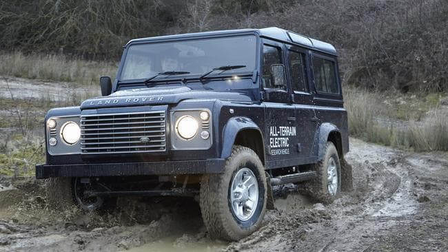 Land Rover Defender reborn with BMW heart