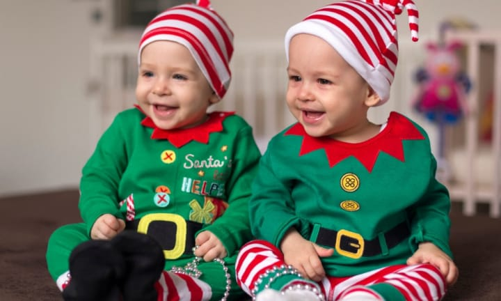 Christmas present ideas for twins, triplets and more