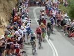 Riders push themselves hard. Photo: Tom Huntley.