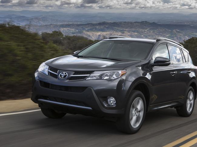 Still a competitor ... the Toyota RAV4. Picture: Supplied