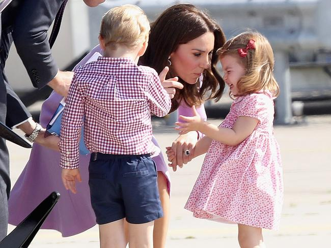 Princess Charlotte will begin school life in January. Picture: Chris Jackson/Getty Images