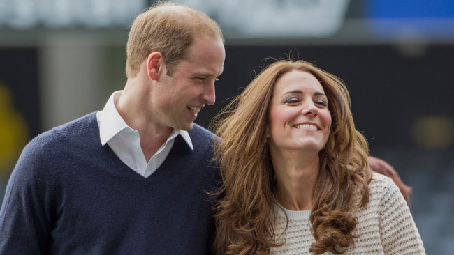 Duke and Duchess of Cambridge on a Royal Tour of New Zealand on April 13, 2014. Image: David Rowland/Getty.