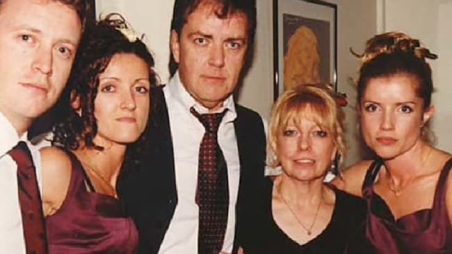 Murder victims Terence and Christine Hodson (centre) with children Andrew (left), Nicola and Mandy (far right). Picture: Reproduced with permission from the Hodson familySource:Supplied