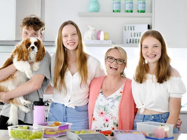 Springer said having her three children inspired her to get organised for her own sanity.