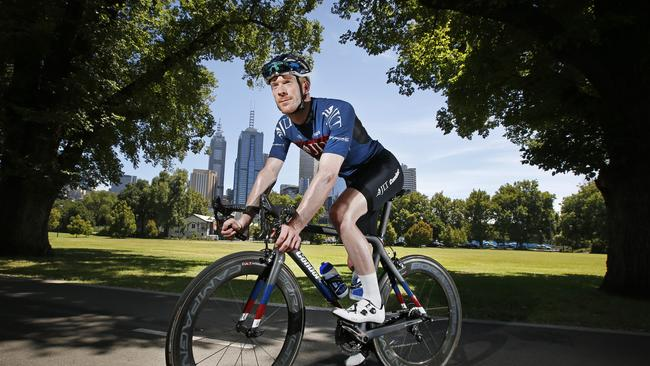 Three-time Olympic gold medallist Ed Clancy will open the Jayco Herald Sun Tour. Picture: David Caird