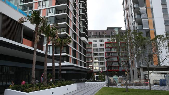 Banks are paying close attention to the apartment market and tightening lending criteria. Picture: Richard Dobson
