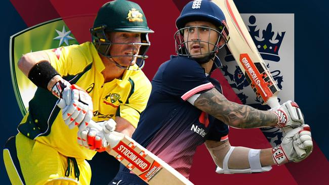 Australia host England in the first ODI at the MCG.